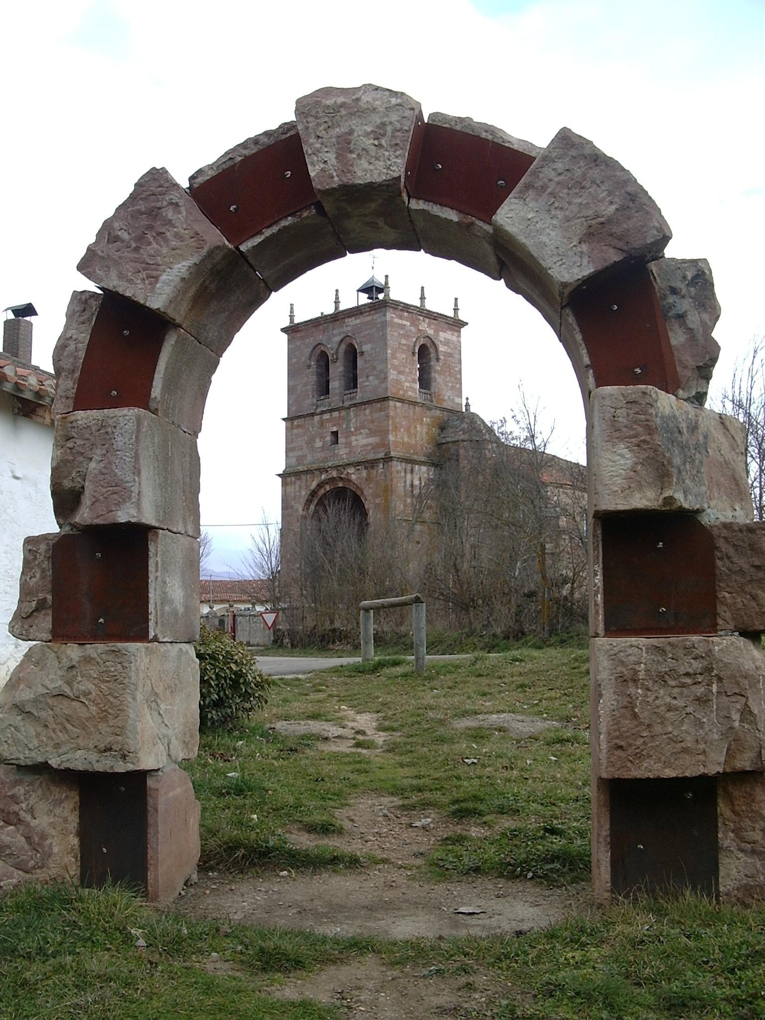 Escudo del Ayuntamiento de Salinas de Pisuerga